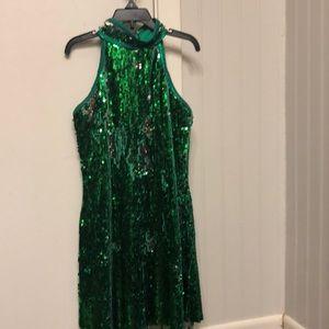 Green dance recital costume